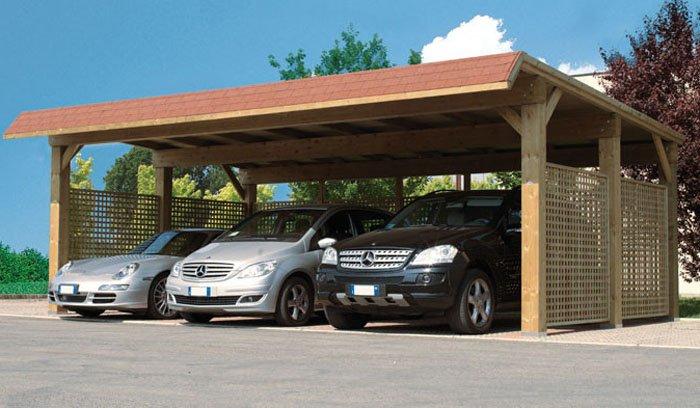 Protezioni per auto garage autocover e tettoie calestani for Progettazione di garage per auto