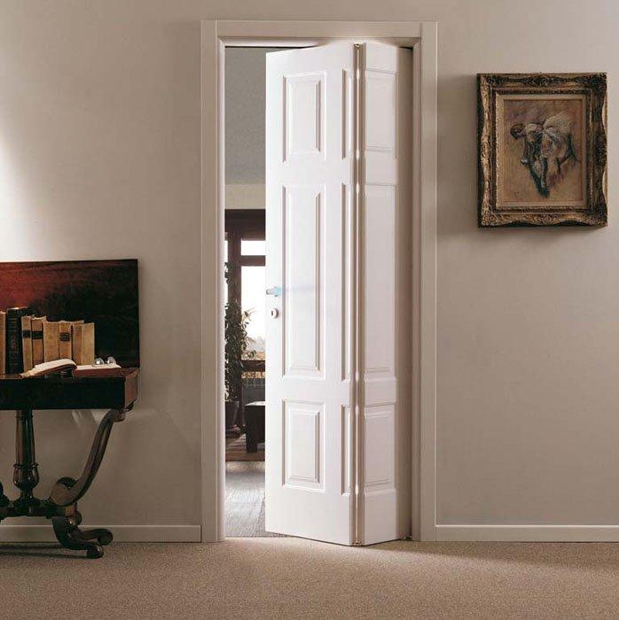 crea spazio in piccoli ambienti con la porta a libro