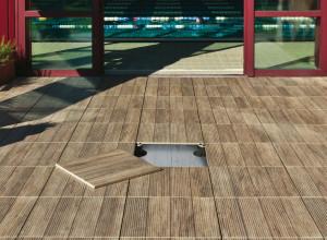 Woodays pavimento in ceramica come legno calestani for Carrelage exterieur aspect bois pas cher