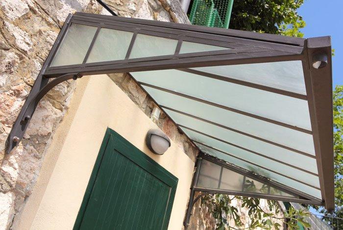Copriporta Gaia in vetro copriporta parma