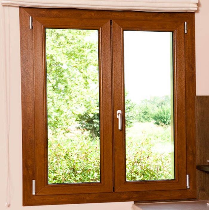Finestra in pvc calestani for Prezzi pvc finestre