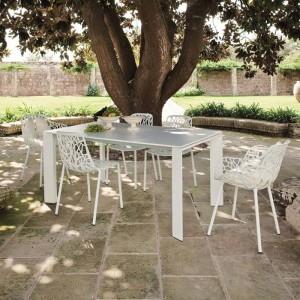 Tavolo Grande Arche tavoli e sedie alluminio parma