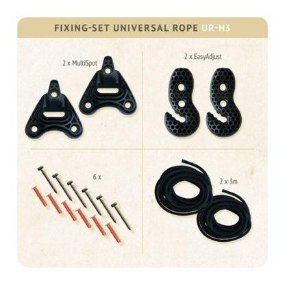 Kit fissaggio Universal Rope amache e dondoli parma