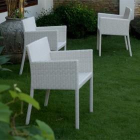 Poltrona Gatsby tavoli e sedie fibra intrecciata parma