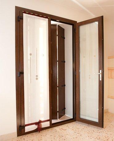 Porta finestra in pvc calestani for Vendita finestre pvc