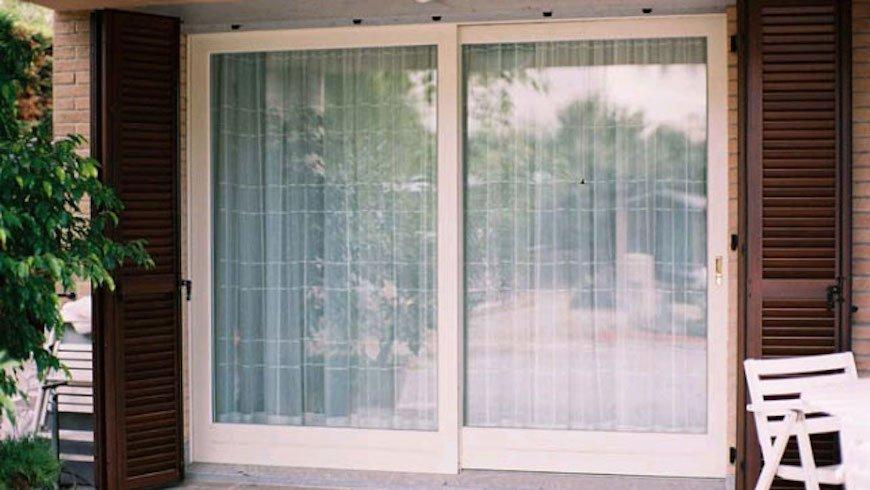 vetrata scorrevole alzante