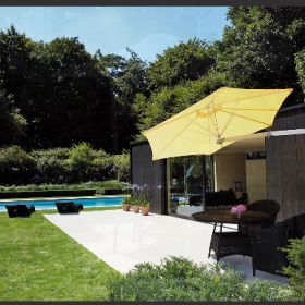 Vendita mobili da giardino a Parma: ombrelloni Calestani
