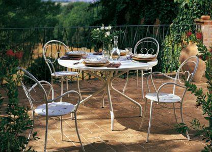 Tavolo Genf e Poltrone Mimmo Vermobil tavoli e sedie da giardino parma