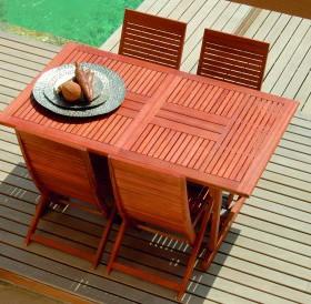 Tavolo Haans in legno tavoli e sedie da giardino parma