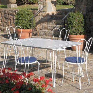 Tavolo e poltrone Mughetto tavoli e sedie da giardino parma