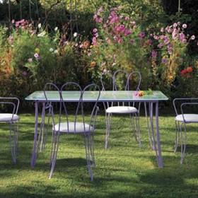 Vendita mobili da giardino a Parma: tavoli e sedie Calestani