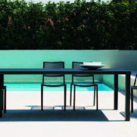 Tavolo e poltrone Easy Fast tavoli e sedie alluminio parma