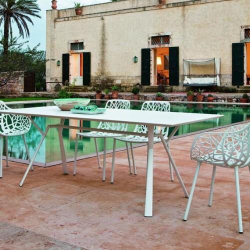 Tavolo Radice Quadra tavoli e sedie alluminio parma