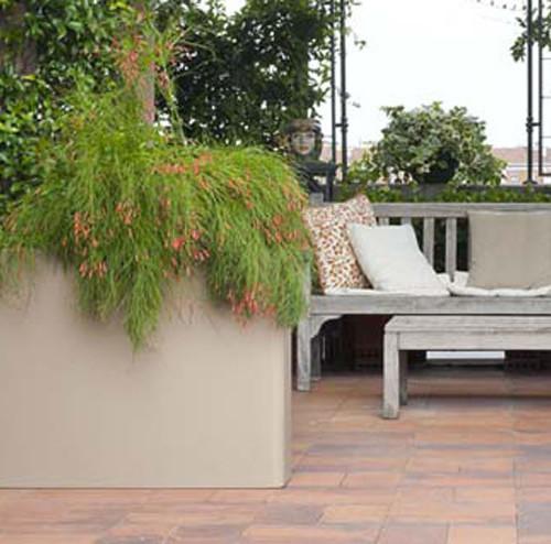 Vaso rettangolare e o di serralunga da calestani a partma for Vendita arredi da giardino