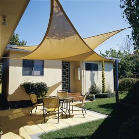 Vela triangolare sabbia cm 500x500x500 shop online complementi giardino