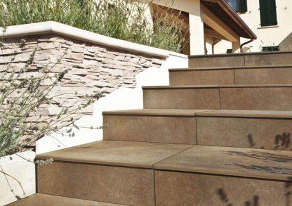 Pavimento in ceramica effetto pietra accessori per esterni