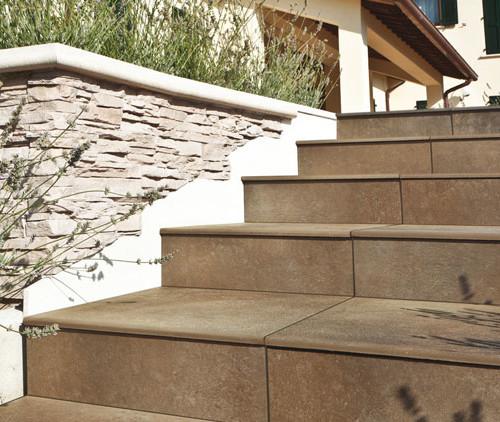 Pavimento in ceramica effetto pietra calestani for Pavimento esterno effetto pietra