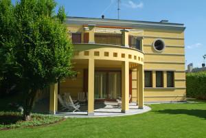 serramenti rovere casa privata