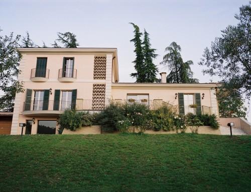 Finestre con traversini casa privata