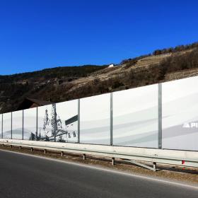 Barriere antirumore di Pircher per uso pubblico