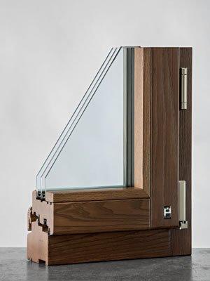 Finestra in legno mm 92 classica | Calestani
