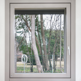 finestra in legno lineafilo