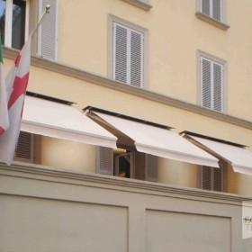 Tenda sole T.Nove QH con tettuccio di protezione