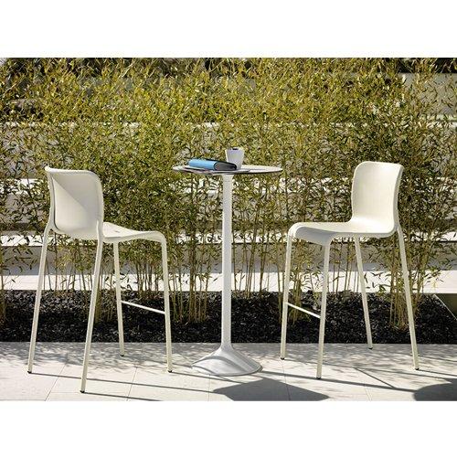 Tavolo stato in multistrato hpl sostegno metallico e base for Vendita arredi da giardino