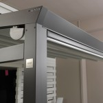 Pergotenda® Palladia con montanti e travi in alluminio