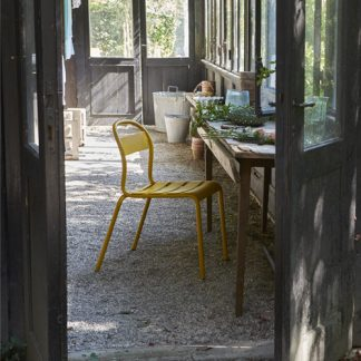 Stecca sedie in alluminio verniciato