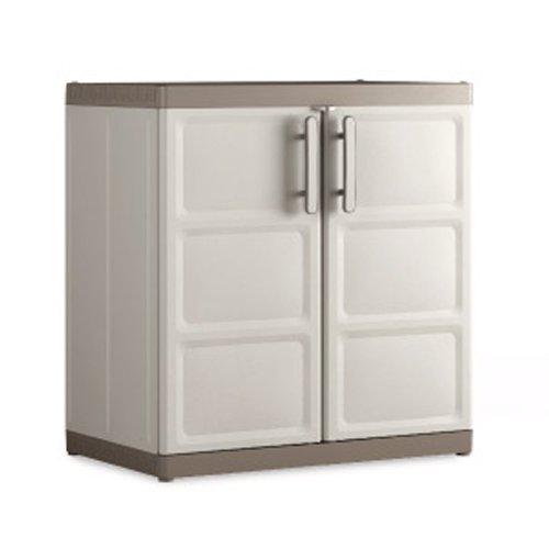 Excellence armadio basso xl in plastica per esterno a parma - Resina per mobili ...