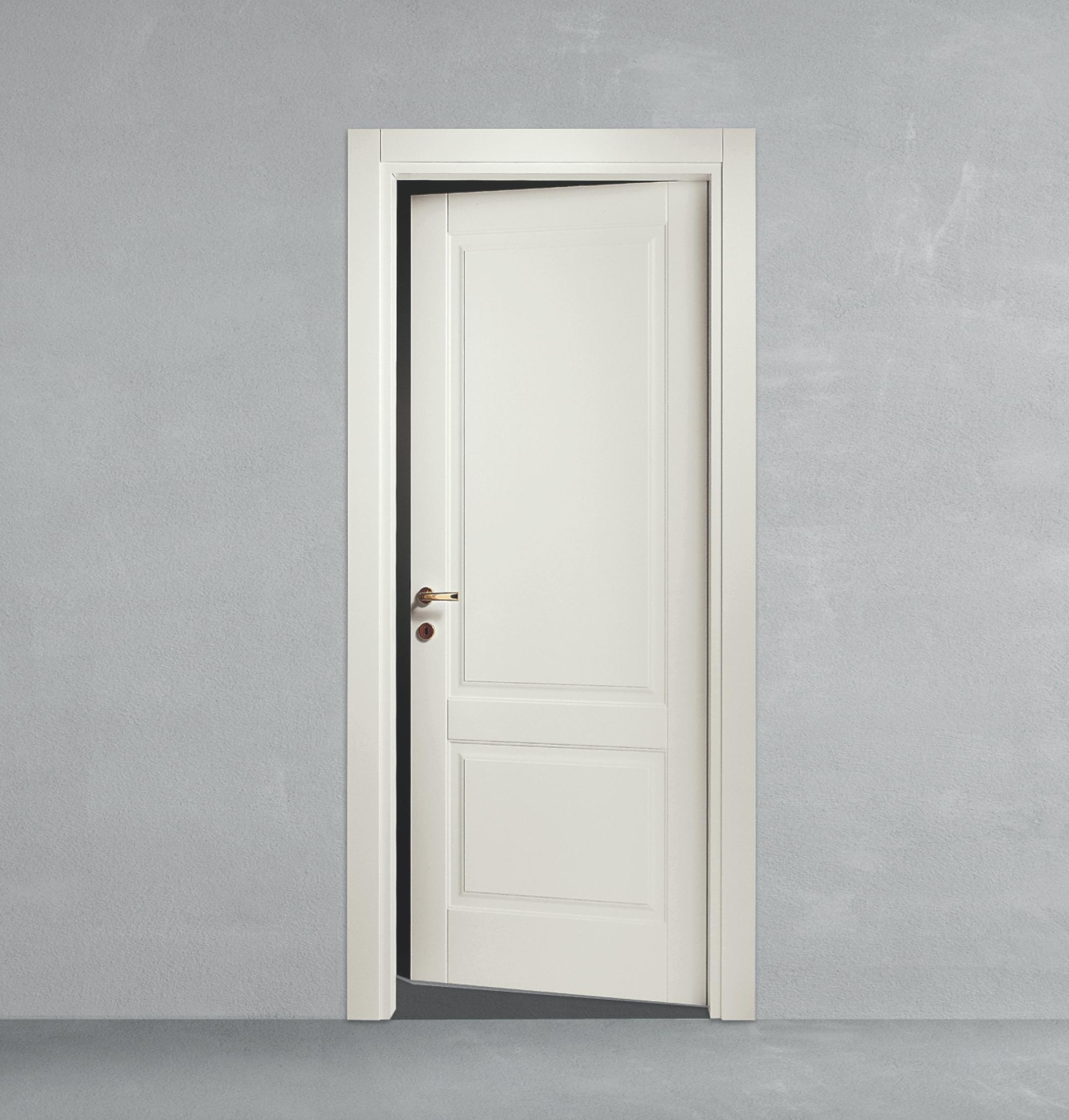 Porta a battente in legno classica da calestani a parma for Porte a battente