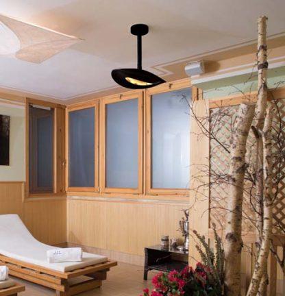lampada riscaldante attacco a soffitto