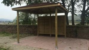 Gazebo modello Pavillon