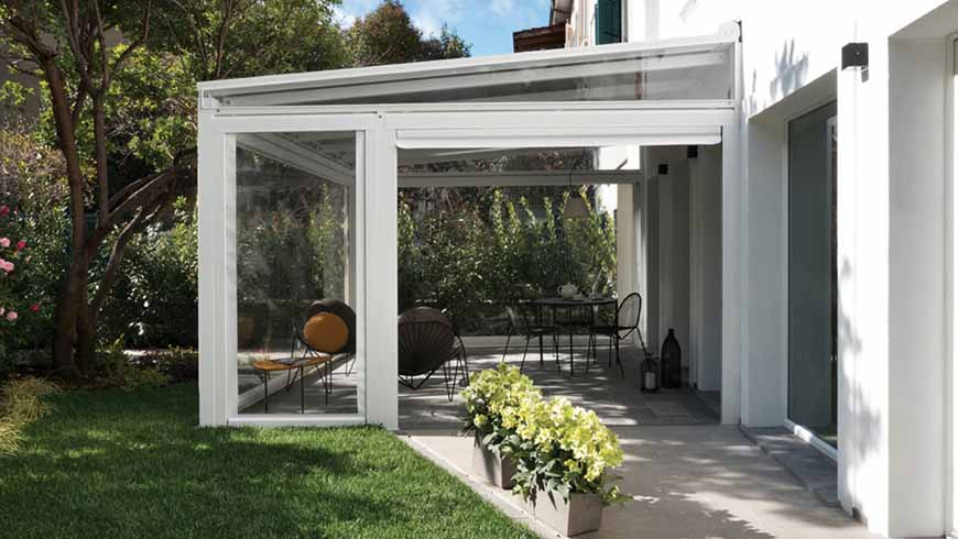 Tende in Cristal per l'outdoor